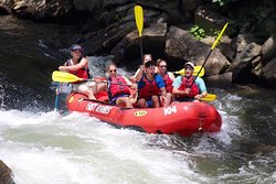 Nantahala Rafting with Adventurous Fast Rivers