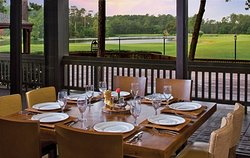 The Woodlands Dining Room at The Woodlands Resort