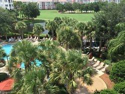 A beautiful view at the Marriott Grande Vista