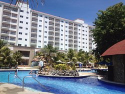 One of the several swimming pools in Jpark Island Resort.