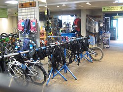 Bike shop and bike rentals