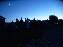 A gathering of stargazers courtesy of Bayside Astronomy.