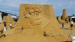 Hundested Sand Sculpture Festival