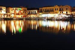 Old Venetian Harbour of Rethymno