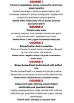 Sudo Asian Kitchen 5 Course Pairing Dinners, ALL August Long at ALL JRG Public Houses