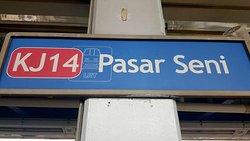 LRT Station - Pasar Seni