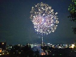 Tanjin Matsuri Hono Fireworks