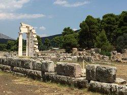 Teatret i Epidauros