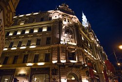 The most Grand hotel in Budapest