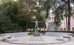Vladimir Vysotskiy Monument
