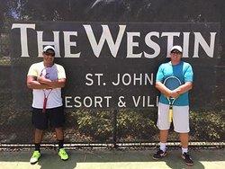 St. John V.I. Tennis Academy Del Olmo-Ramirez