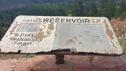 Colorado Fishing Rampart Reservoir