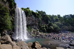 Jeongbang Waterfall