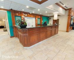 Front Desk at the Hilton Garden Inn Columbia - Harbison