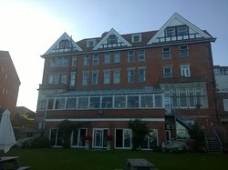Birthday weekend at the Grand Hotel in Swanage