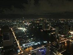 방콕의 야경을 볼수있는 최고의 장소