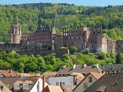 Nice Hotel, Great Location for Seeing the Heidelburg Castle