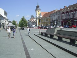 Avenue of Heroes in Cluj-Napoca