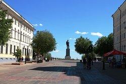 Памятник В. П. Чкалову