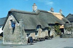 The Blue Anchor Inn, East Aberthaw, Vale of Glamorgan.
