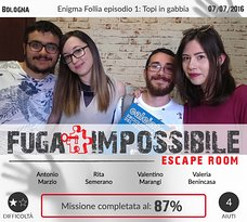 ‪Fuga Impossibile Escape Room‬