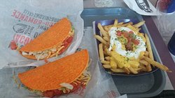 Doritos Los Tacos and Fries Supreme