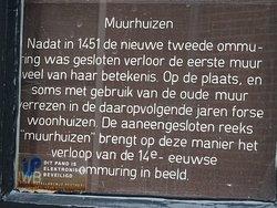 Middeleeuwse Muurhuizen van Amersfoort;july 2016