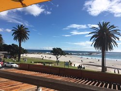 View from the lunch deck at Umi