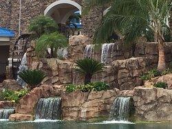 Exterior of Sapphire Falls