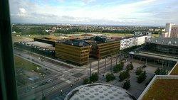 Emporia Mall from hotel window