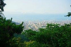 和田峠の見晴らし広場
