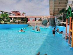 Parque acuatico polinesia