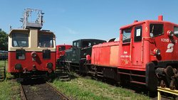 Das Heizhaus Eisenbahnmuseum Strasshof