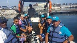 Zarpando desde la Marina Internacional