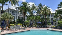 Key West Best hotel resort location ocean view on the boat docs