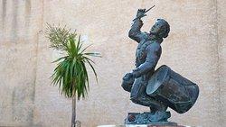 La statue du petit tambour