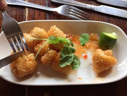 Sweet chilli squid