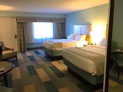 oversized oceanfront room