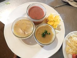 Soup tasting dish