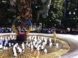 Monument-Fountain Clown