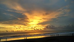 Favourite Spot for Sunset at  Seminyak Area