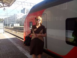 High-speed Train Lastochka
