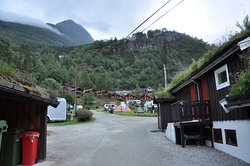 Simply the best and most picturesque campsite in Geiranger