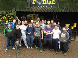 Delta Force Paintball Cardiff