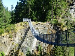‪Elk Falls Suspension Bridge‬