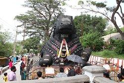 Chamundi Hill Bull Statue