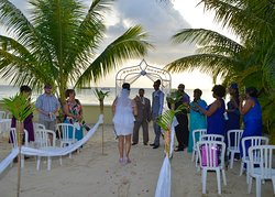 Destination Wedding Held here at ROOMS Negril.