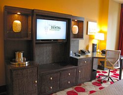 TV w/ Drawers & Desk