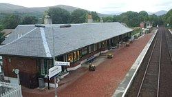 A Quaint restaurant in a converted Railway Station