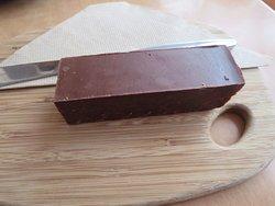 Chocolate brownie (yum!)